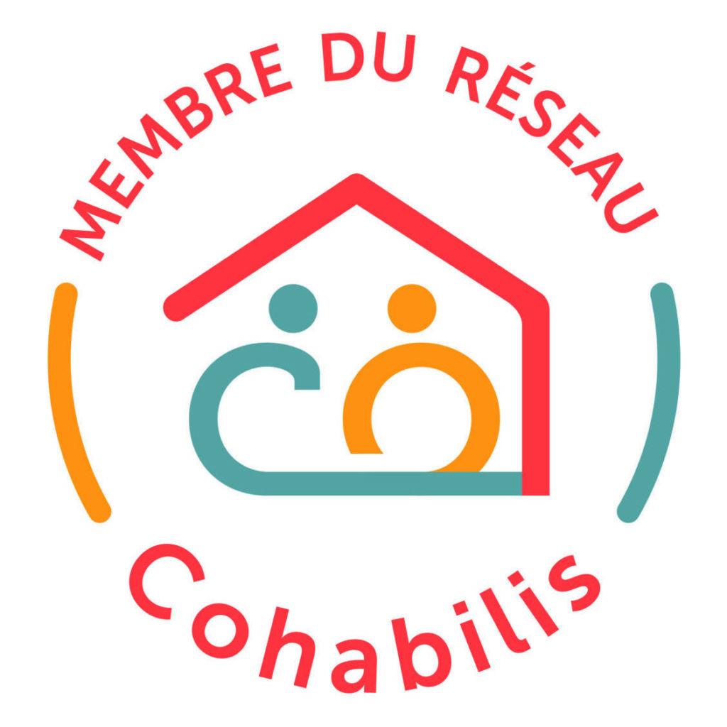 Nouveau logo membre du réseau Cohabilis, association de cohabitation intergénérationnelle